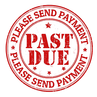 Past Due Notice Stamp